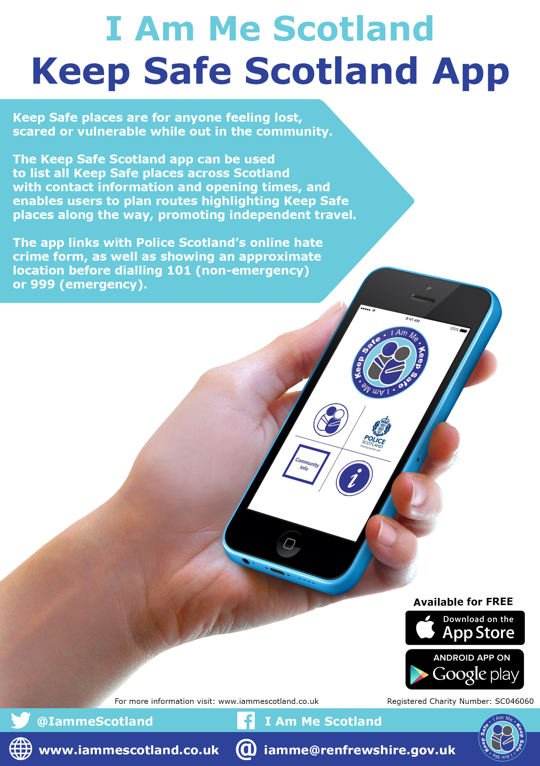 Keep Safe Scotland App Newsletter Advert v2