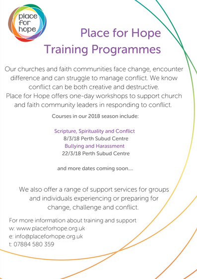Place for Hope Training Programmes